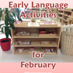 Early Language Activities contributed by Trillium Montessori on MontessoriBloggersNetwork.com