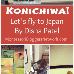 Japan Unit by Disha from Lotus Montessori Extensions. Full post on MontessoriBloggersNetwork.com