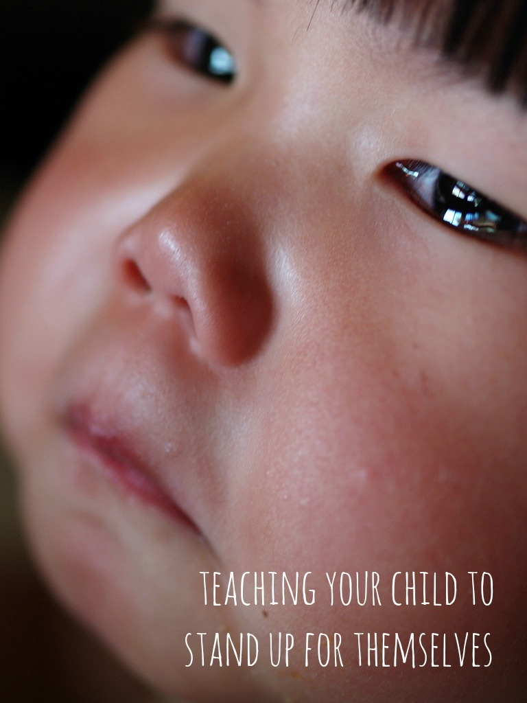Teaching your Child to Stand Up for Themselves