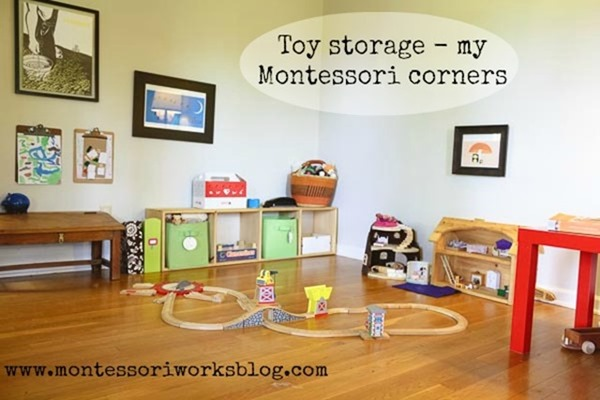 Toy Storage for your Montessori Home
