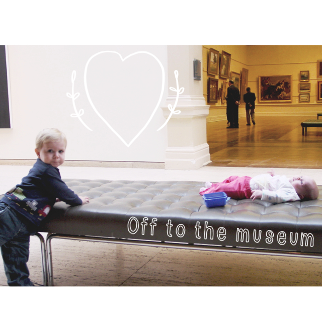 Making museum trips fun with young children
