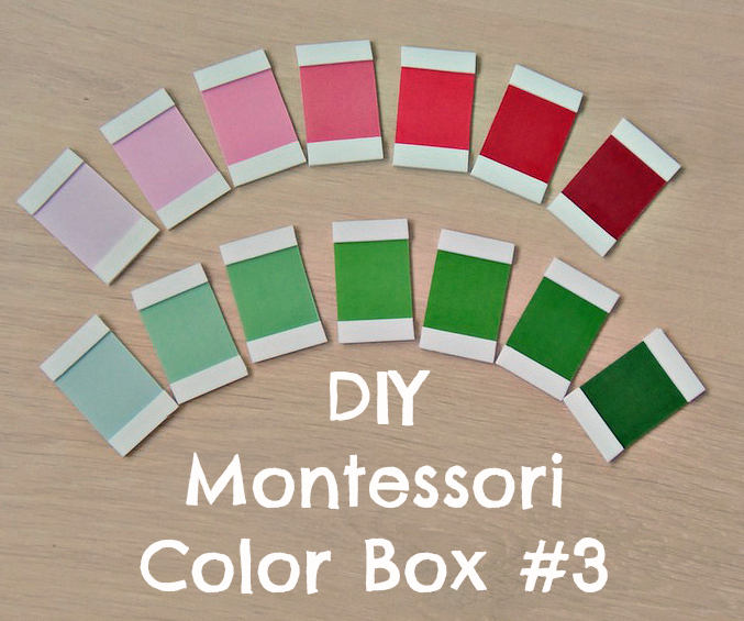 DIY Montessori Color Box #3