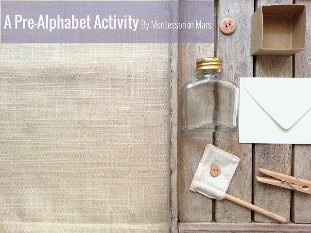 A Pre-Alphabet Activity with Montessori on Mars