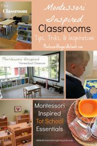Montessori Inspired Classrooms