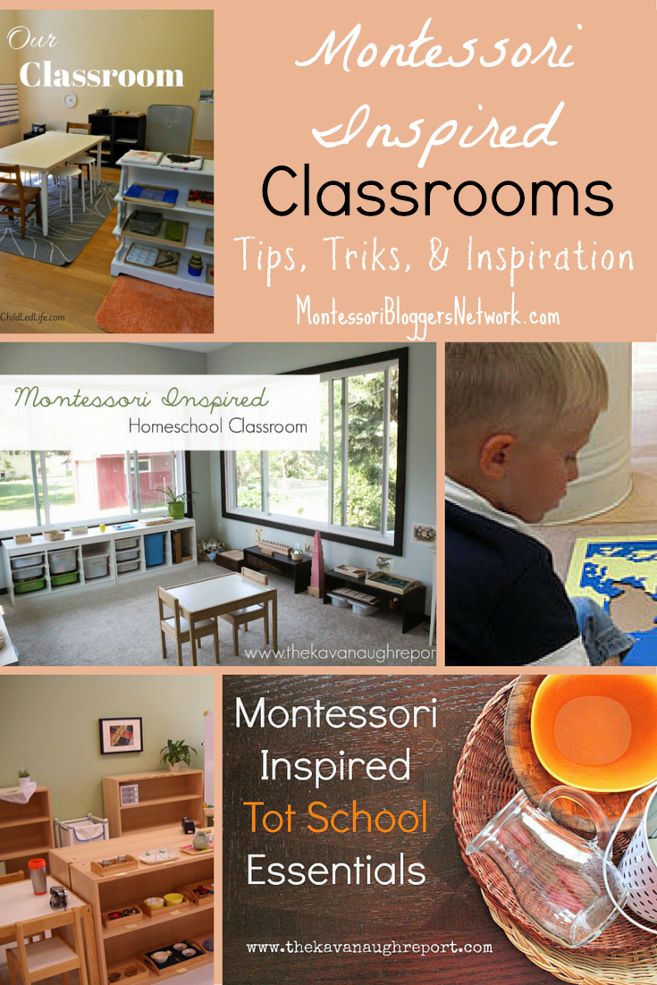 Montessori Inspired Classrooms