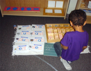 Montessori Education on Phonics: Learning to Read Is Child's Play